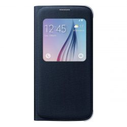 Cover Samsung S-View S6 Negro EF-CG920 i450