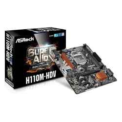 Mother Asrock H110M-HDV S. 1151 i450