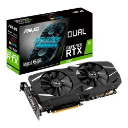 Placa de Video Asus RTX 2060 Dual Advanced 6GB