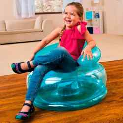 Sillón Inflable Infantil Intex Jr Fun Celeste 22743/0 i450