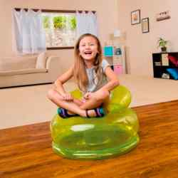 Sillón Inflable Infantil Intex Jr Fun Verde 22743/0 i450