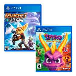 Combo Juegos Spyro Reignited Trilogy + Ratchet  Clank i450