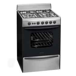 Cocina a Gas Longvie 60 cm Inoxidable 13601XF i450