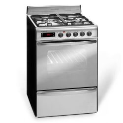Cocina a Gas Longvie 56 cm Inoxidable 21501X i450