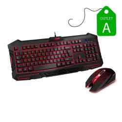 Outlet A - Kit Teclado + Mouse Sentey Brain Gaming GS-5800 i450
