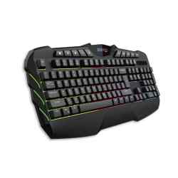 Teclado Gaming XSOUL USB Multifuncion LED Multicolor GAME-XK700 i450