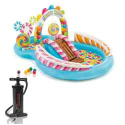 Combo Intex Play Center Inflable Zona De Dulces + Inflador 24387/2 i1