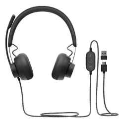 Auricular Logitech Headset Zone Wired Con Noise Cancelling i450