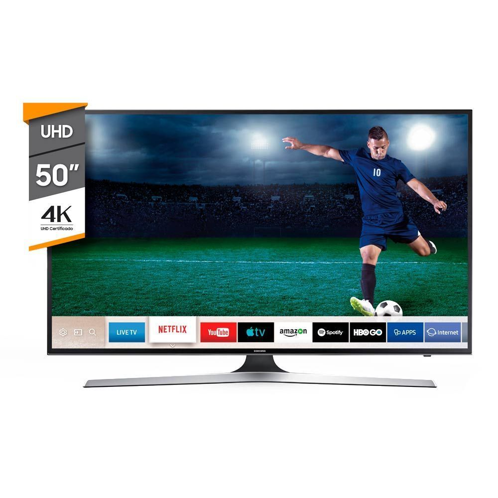 Smart TV Samsung 50p Led Ultra HD 4K MU6100 img 1