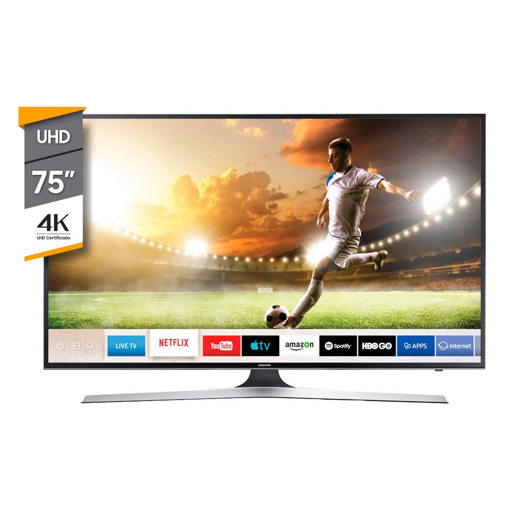 TV Smart SAMSUNG 75P UHD 4K 75MU6100 img 1