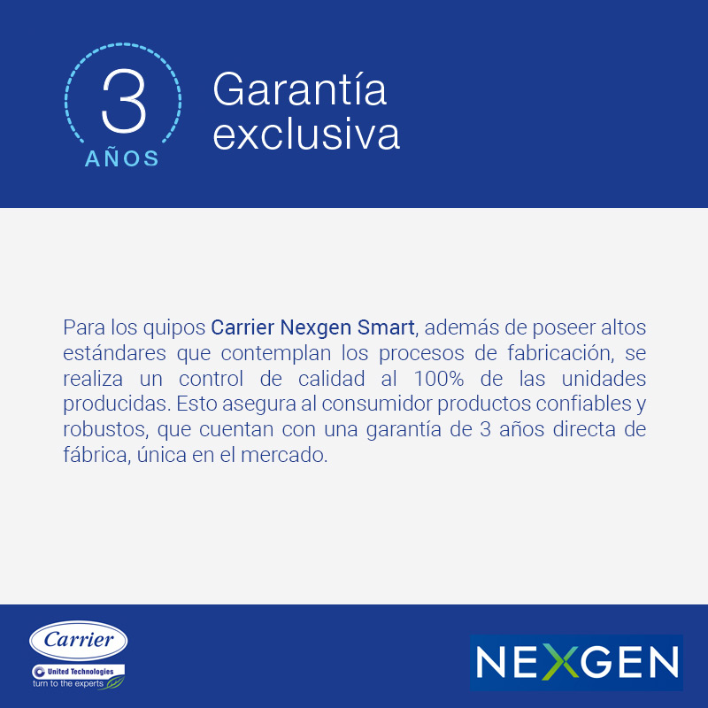 Aire Acondicionado Split Carrier Nexgen Smart 2616W FC 53HNG img 8