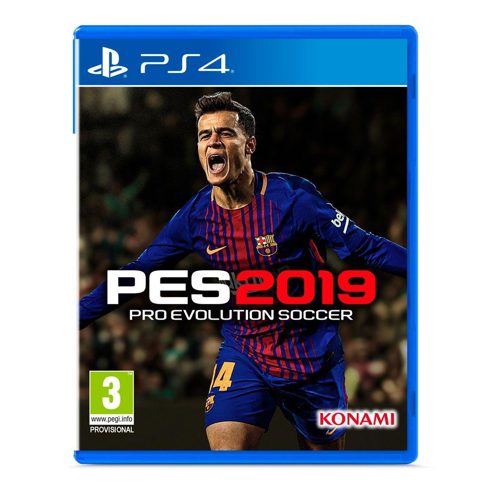 Juego Pes 2019 Para Playstation 4