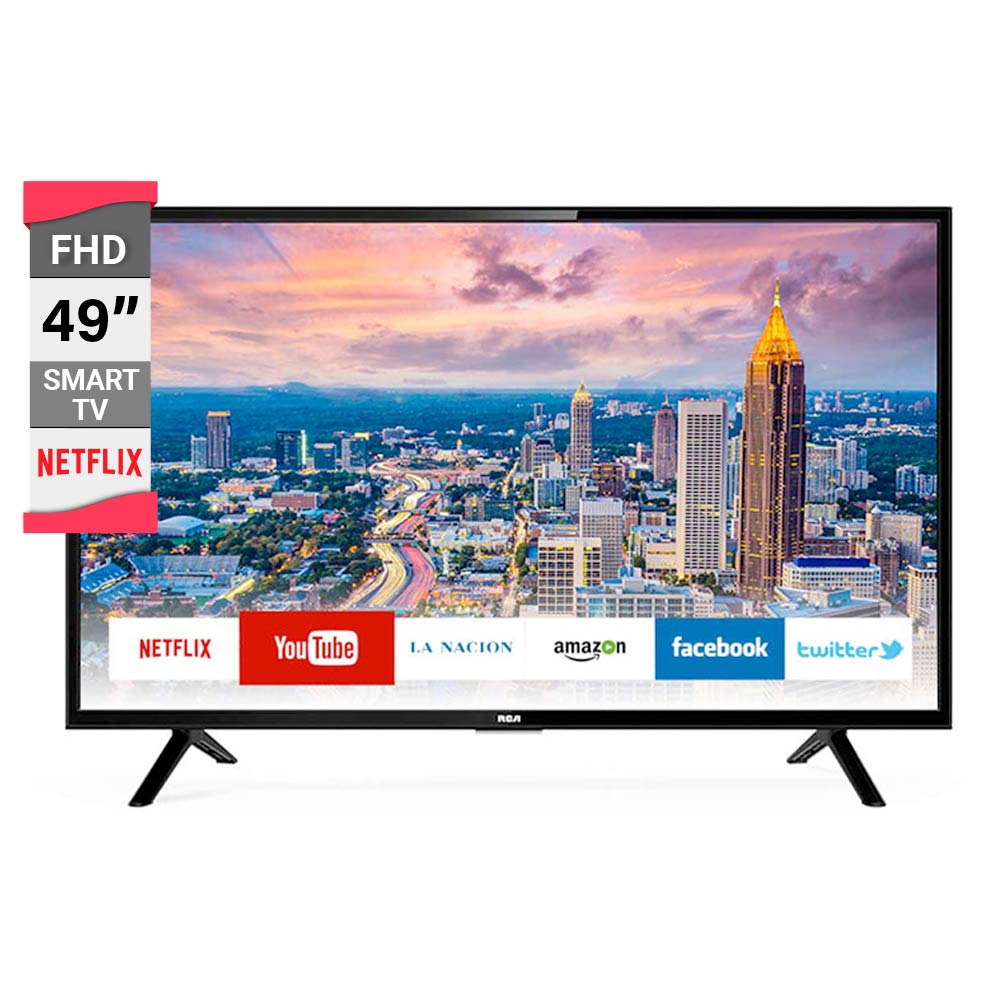 401d4f0e8d2 Smart TV RCA 49p Led Full HD L49NXTSMART img 1