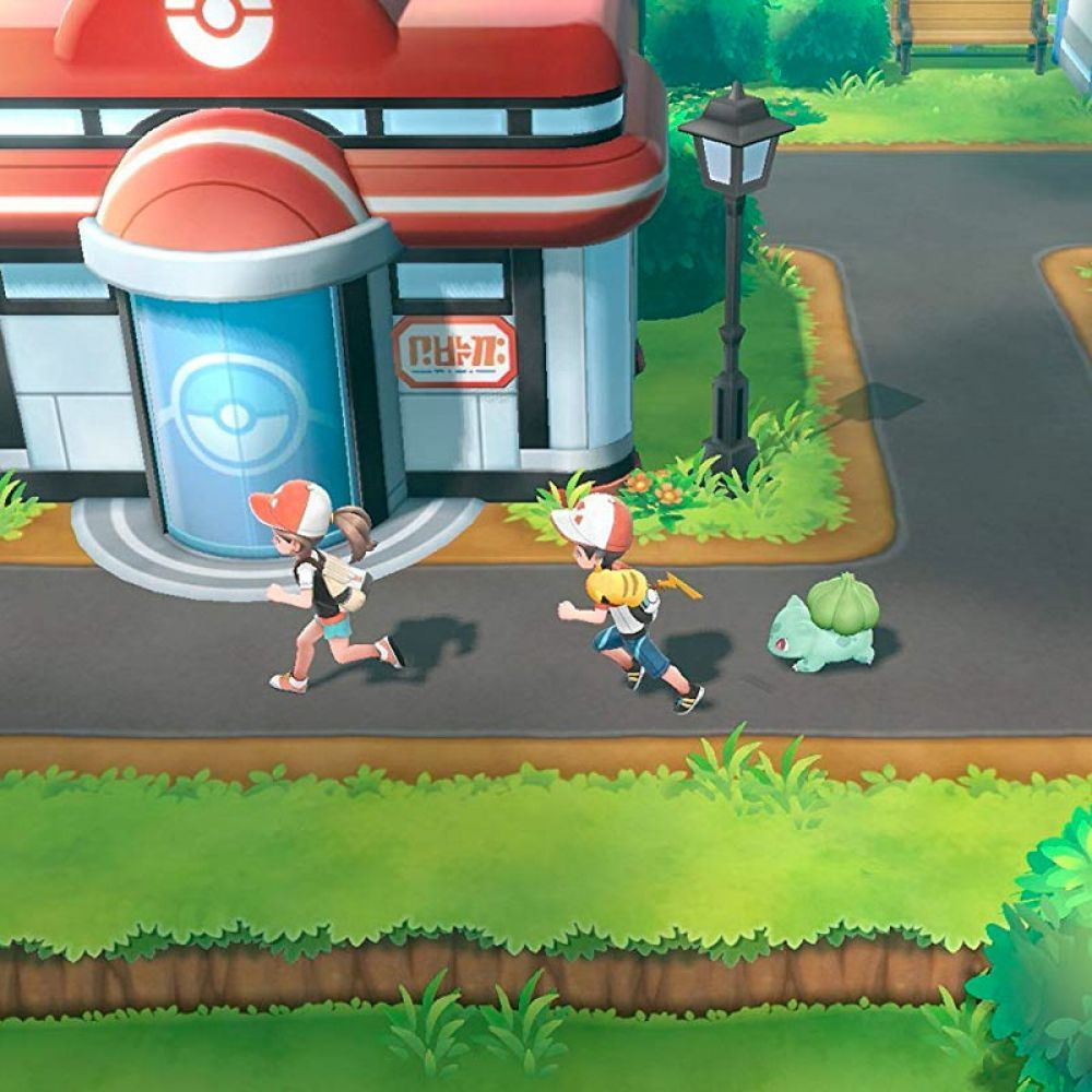 Juego Pokemon Lets Go Pikachu Para Nintendo S