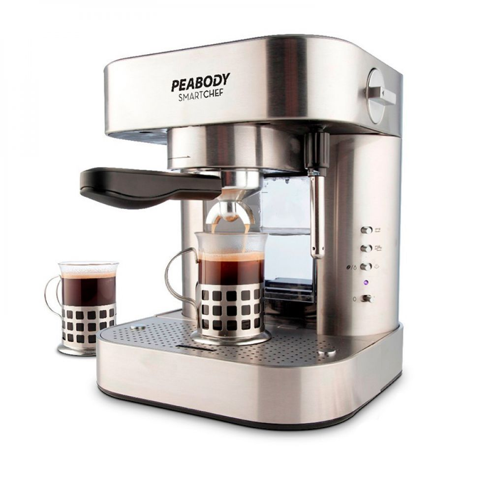 Cafetera Expresso Peabody Acero Inoxidable PE-CE19 img 1