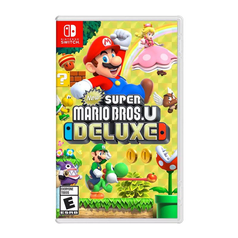 Juego New Super Mario Bros U Deluxe Nintendo