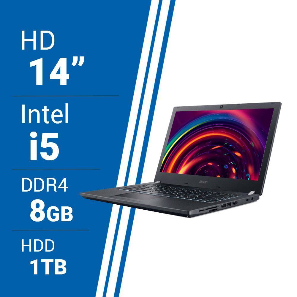 Notebook Acer TravelMate 14p i5 8 GB 1 TB Linux img 2
